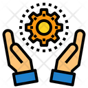 Management Hand Device Icon