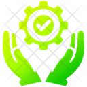 Service Man Support Icon