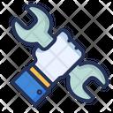 Service Key Hand Icon