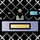 Service Phone Online Icon