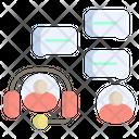Service Communication Talk Icon