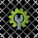Service Maintenance Management Icon