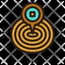 Service Area Pin Icon