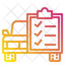Check List Car File Icon