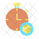 Service Hours Calling Time Support Time Icon