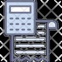 Service Invoice Billing Professional Invoice Icon