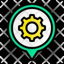 Service Location Services Setting Icon