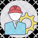Service Man Technician Icon