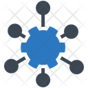 Network Service Distribution Icon