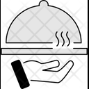 Service Plate Restaurant Icon