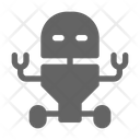 Robotic Service Robot Icon