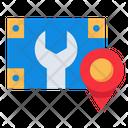 Service Station Location Icon