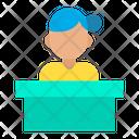 Service Woman Icon