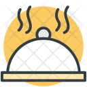 Serving Platter Food Icon