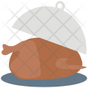 Serving Platter Chicken Icon