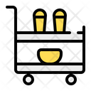 Serving Cart Cart Trolley Icon