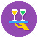 Serving Drinks Icon