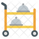 Serving Trolley Icon