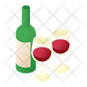 Serving Wine Icon
