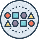 Set Conglomeration Cluster Icon