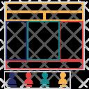Set Stakeholders Enterprise Icon