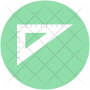 Set Square Geometry Icon
