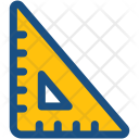 Degree Square Set Icon