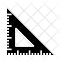 Set Square Ruler Triangle Icon