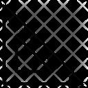 Set Square Degree Square Drafting Tool Icon