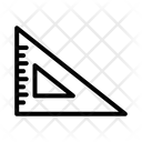 Set Square Degree Square Math Icon