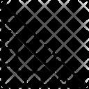 Set Square Ruler Set Icon