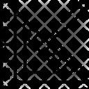 Set Square Rule Ruler Icon