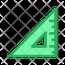 Angle Measure Ruler Icon