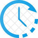 Set time clockwise Icon