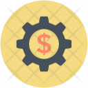 Setting Cogwheel Dollar Icon