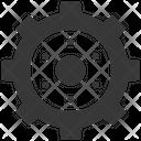 Gear Maintenance Technical Service Icon