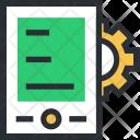 Setting Cogwheel Tablet Icon