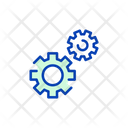 Setting Cog Wheel Maintenance Icon