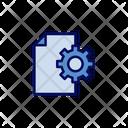 Setting Document Setting File Setting Icon