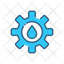 Setting Water Management Management Icon
