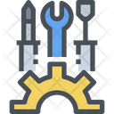 Setting Develop Gear Icon