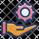 Setting Gear Cogwheel Icon