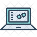 Function Digital Management Icon