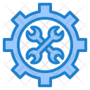 Setting Tools Wrench Icon