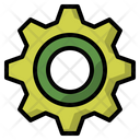 Gear Interface Setting Icon
