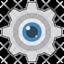 Gear Setting Configure Icon