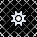 Setting Industrial Cogwheel Icon