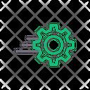 Setting Gear Development Icon