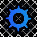 Gear Setting Configuration Icon
