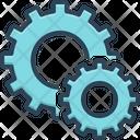 Setting Circle Cog Icon